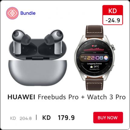 Huawei Freebuds Pro with Watch 3 Pro