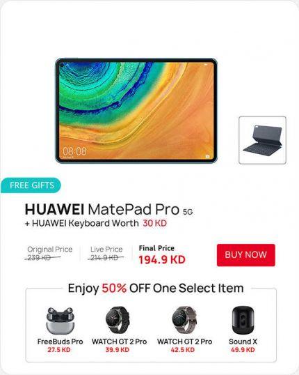 HUAWEI Matepad Pro with Keyboard
